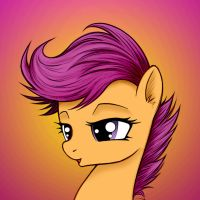 Scootaloo by MoonlightClouds