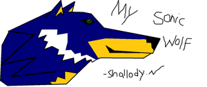Sonic Paint Wolf by Naru77Sonic