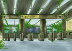 An Unusual Station by Foxxeh