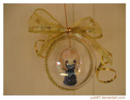 Gift: Christmas Tree Ornament - Micro Aurora by Yuki87
