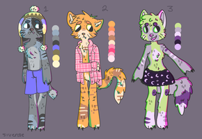Cat Adoptables OPEN by Sleepy-Gem