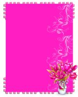 Pink template 2 request stock by Ecathe