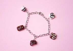 Box O' Chocolates Bracelet by theaquallama