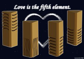Love is the fifth element by tucsicorr