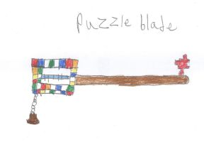 Puzzle blade by Nitrox8