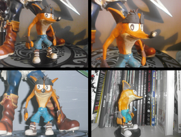 Crash Bandicoot Model (Crash Landed Design) by FierceTheBandit