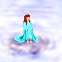 Even angels wear shoes by Karsmera