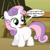 Sweetie Belle is Pregnant by preggoediter
