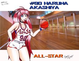 Haruna ALL-STAR by ImfamousE