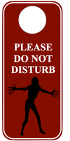 Do Not Disturb by JediArtisan