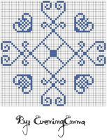 Free pattern: Bees by eveningemma