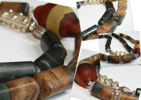 Earthen Necklace collage by CrysallisCreations