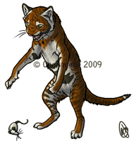 Pounce Play Toyger by chenneoue