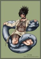 Anko and Snake by tacticalsnake