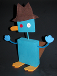 Bobblehead Perry the Platypus by dpdagger