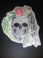 Contrast skull design by AdamCareless