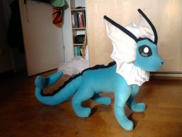 Vaporeon-Plushie by ConvoyOfWind