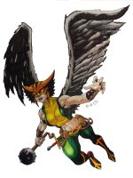 Hawkgirl by MikeES