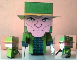 Cubeecraft The Mad HatterCompleted DC Super Heroes by handita2006