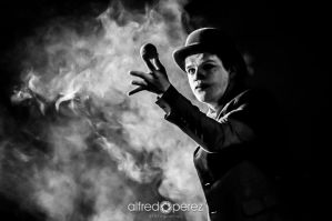 Smoking Clown by AlfredoPerez