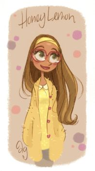 Honey Lemon from Disney's BIG HERO 6 by princekido