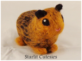 Needle Felted Guinea Pig! by StarlitCutesies