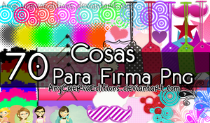 Cosas para firma png by AnyCuervaEditions