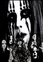 JOEY Collage Black and white by slipknotjunkie666