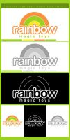 Rainbow Logotype by cabezadecondor