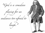 Voltaire. by It-Helps-To-Dream