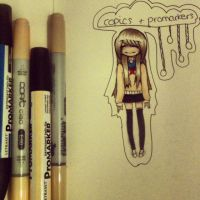 copics and promarkers :D by chimomo23
