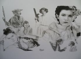 Leia by Quadcabbage