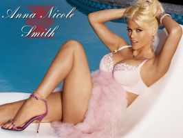 Anna Nicole Smith On FHM by ramster83