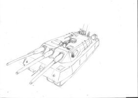 Heavy Tank design by fighterace2688