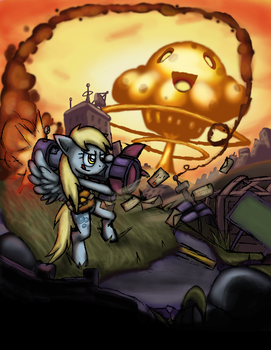 Derpy: Going Postal by Cazra