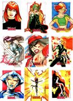 Women of Marvel 02 by Cinar