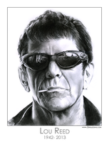 Lou Reed by gregchapin