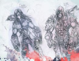 Darksiders: Death and War by Aths-Art