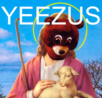 Yeezus Alternate Album Cover by oarpheus