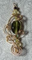 wire pendant 182 by Kimantha333