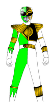 Mighty Morphin' Green and White for Mulity-man37 by rangeranime
