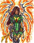 Witchblade Phoenix by KwongBee-Arts