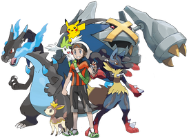 Me and My Pokemon Team by FrostTheHobidon