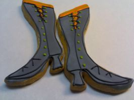 Witches' Boots Cookies by eckabeck