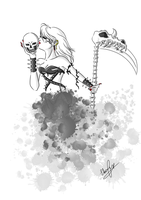 The Female Reaper by Ebsie