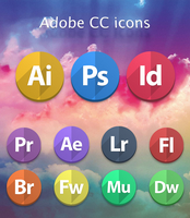 Adobe CC icons by SRudy