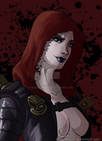 InFamous: Sasha by Know-Kname