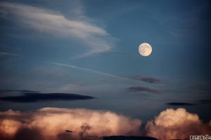 The Bright Side Of The Moon by LeWelsch