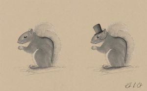 Sir Snappy Squirrel by MyRobotBee