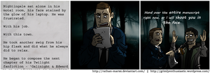 Alan Wake. Writer, Victim by Rathan-Marxx